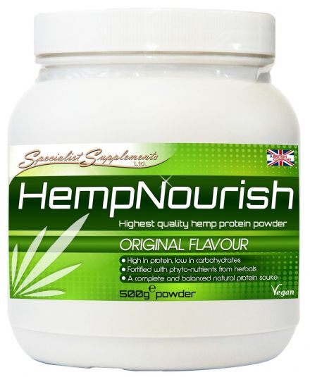 HempNourish 500g Hemp Protein Powder + Herbs Superfoods; Specialist Supplements